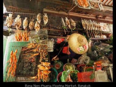 Bang Nam Phueng Floating Market, Bangkok