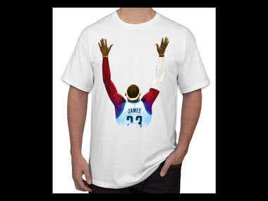 NBA T-shirt Design