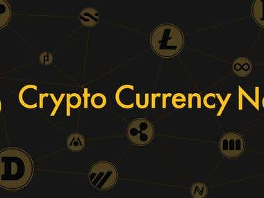 Cryptocurrency News Website