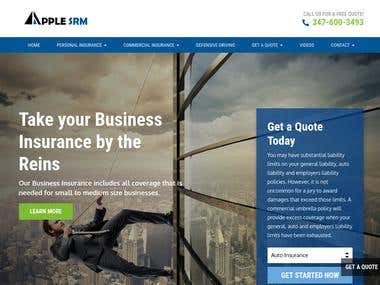 FINANACE WEB DEVELOPMENT (http://applesrm.com/)