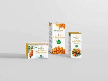 Biokhaan Packaging design
