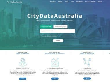 Website Design, Development & SEO For City Data Australia