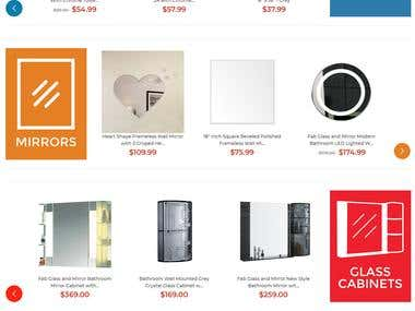Glass Products - Magento