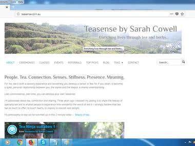 teasense.com.au (wordpress)