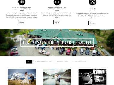 Wedding Photographer - Wordpress