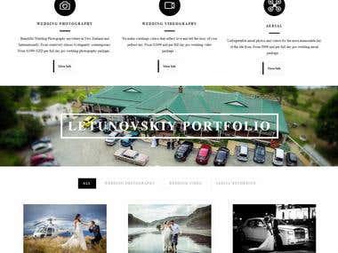 Wedding Photographer - Wordpress