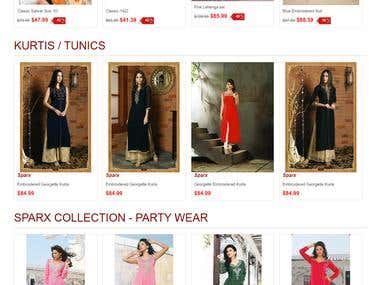 Indian Women's Clothing - Magento