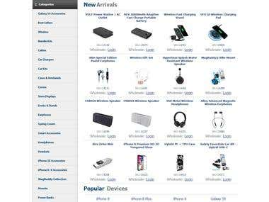Mobile Accessories Store - PHP