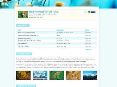 Company Profile for VietnamWorks.Com