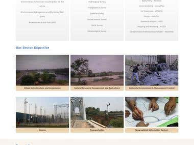 Environmental consultancy firm website
