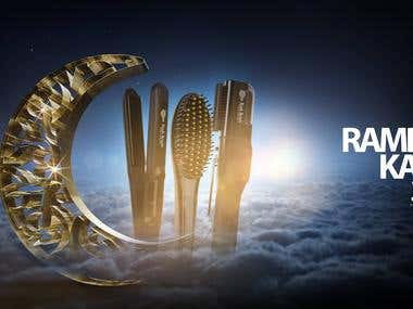 RushBrush advertisement for Ramdan Karim
