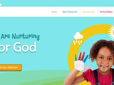 Web Development for BizzyTots Montessori