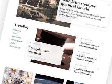 Newsmedia Website