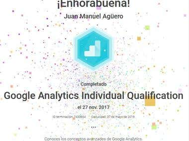 Google Analytics Advanced Certification
