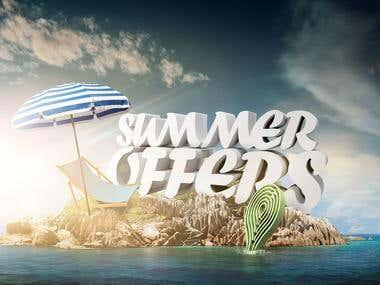 RushBrush advertisement for Summer offers