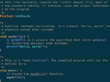 C,C++,C# Programming