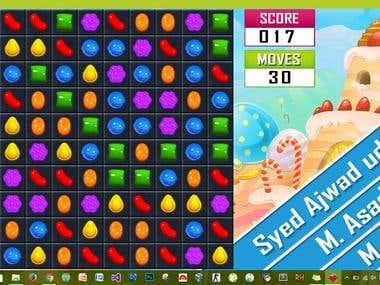 Candy World (Assembly Language)