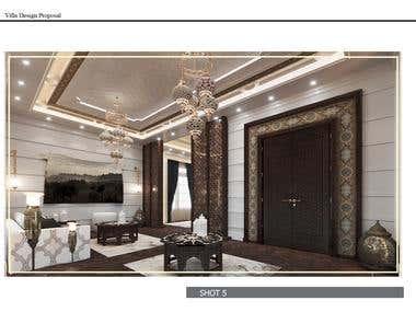 Men maglis , villa design