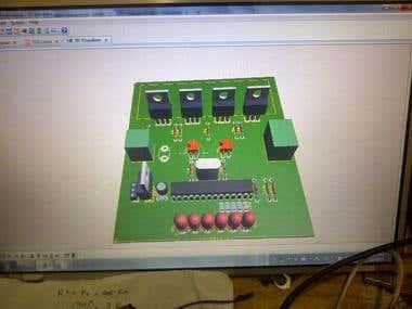 Proteus Simulation + Real Build