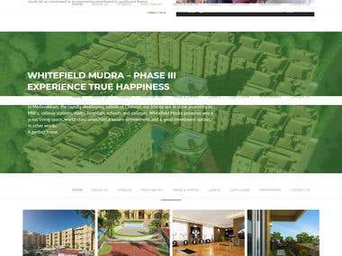 WordPress Website (Construction theme based)