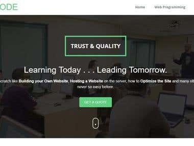 Tutorial Website