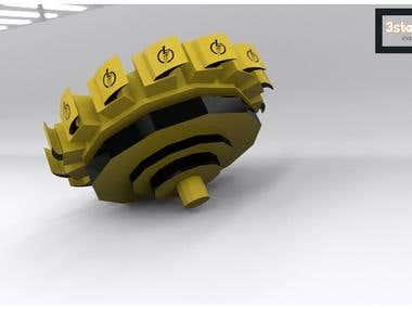 3D Bayblade Models
