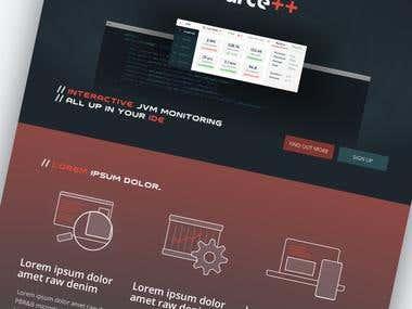 Source++ Website Design