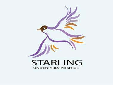 logo for starling medical supplies.