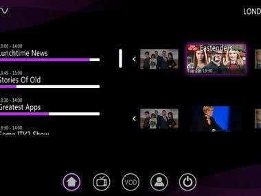BritTv (Android Tv and Roku Tv Application)