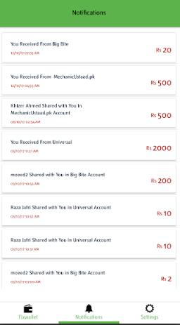 FixPay - An E-Mobile Walled based
