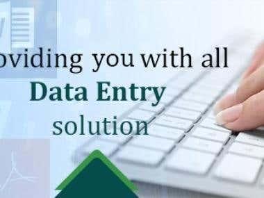 DATA ENTRY , WEB DESINGING, PHOTOSHOP EDITING, WEB DEVELOPER