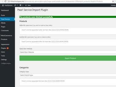 Wordpress custom plugin to manage inventory