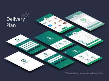 Mobile Design | Delivery Plan App