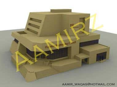 3D model of PEC Building
