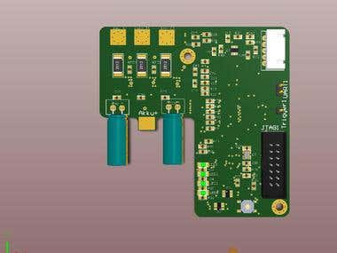4 Layer Pcb design in Altium for Brushless motor control