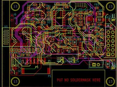 4 Layer PCB design in Kicad for R41Z RF board