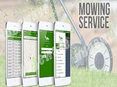 Joe Mow App: