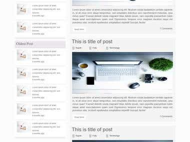 Bootstrap Owner blog