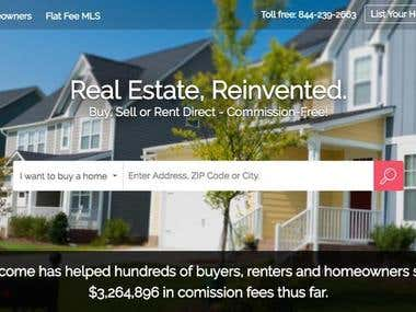 Buy/Sell house - Wordpress