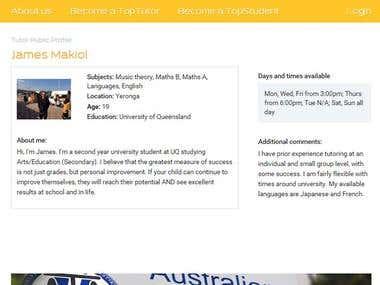Student-Tutor Portal