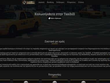 Website - Taxibill