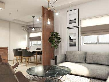 INTERIOR DESIGN / Modern and Cozy Home