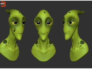 Alien Character