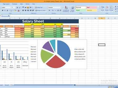 Data Entry , Excel , Web Search , Data Editing