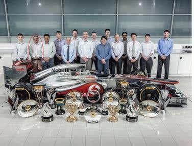 McLaren F1 Trophies 2012
