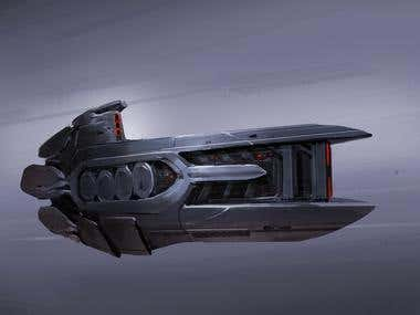 Spaceship Concept Art