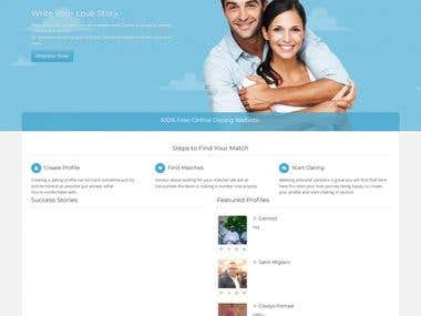 Develop Social Media website