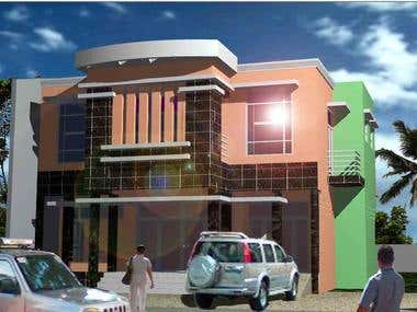 Commercial residential project