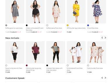 Specialty in Women Clothing for plus-Size people