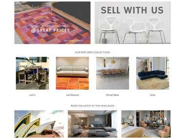 Home Furniture ecommerce